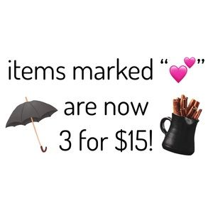 CLOSET CLEANOUT!! Items JUST marked down!!